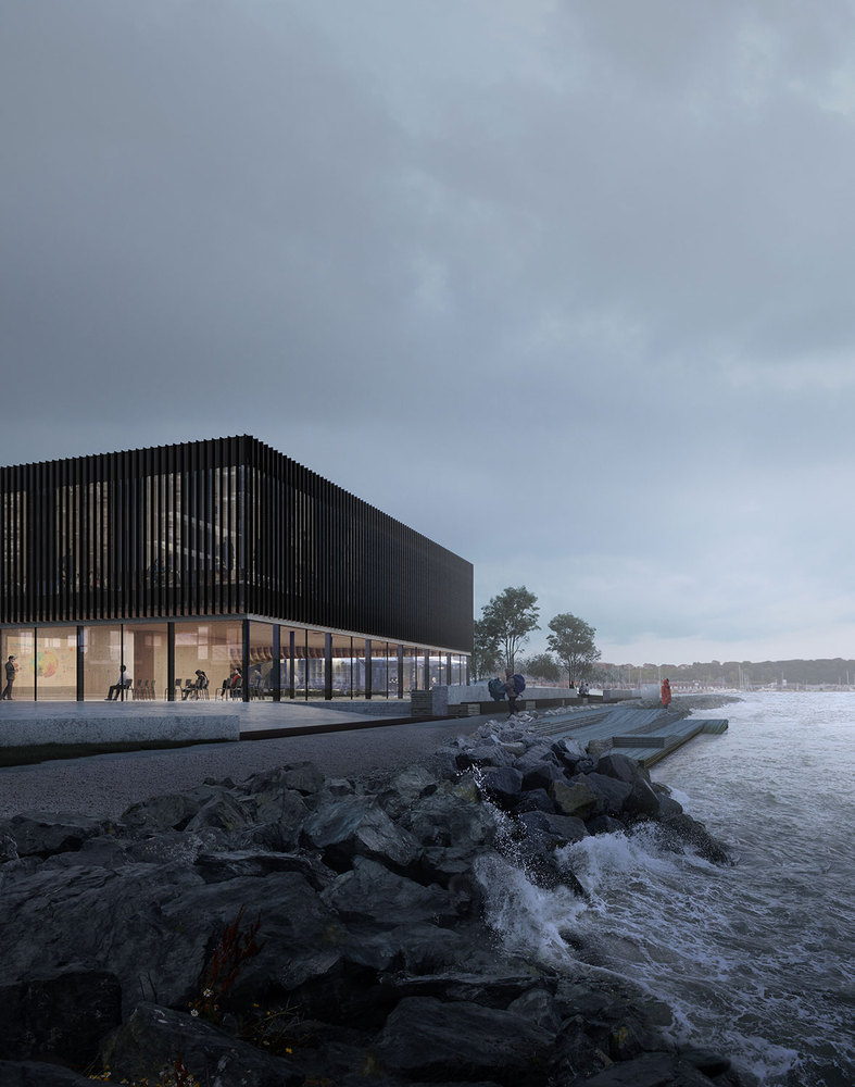 3XN wins competition for a new waterfront climatorium in Lemvig, Denmark - 2