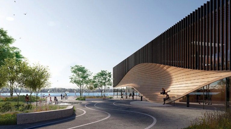 3XN wins competition for a new waterfront climatorium in Lemvig, Denmark - 3