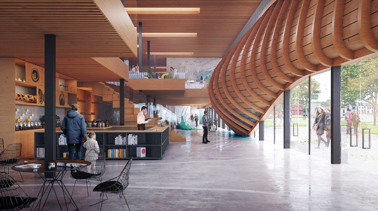 3XN wins competition for a new waterfront climatorium in Lemvig, Denmark - 4