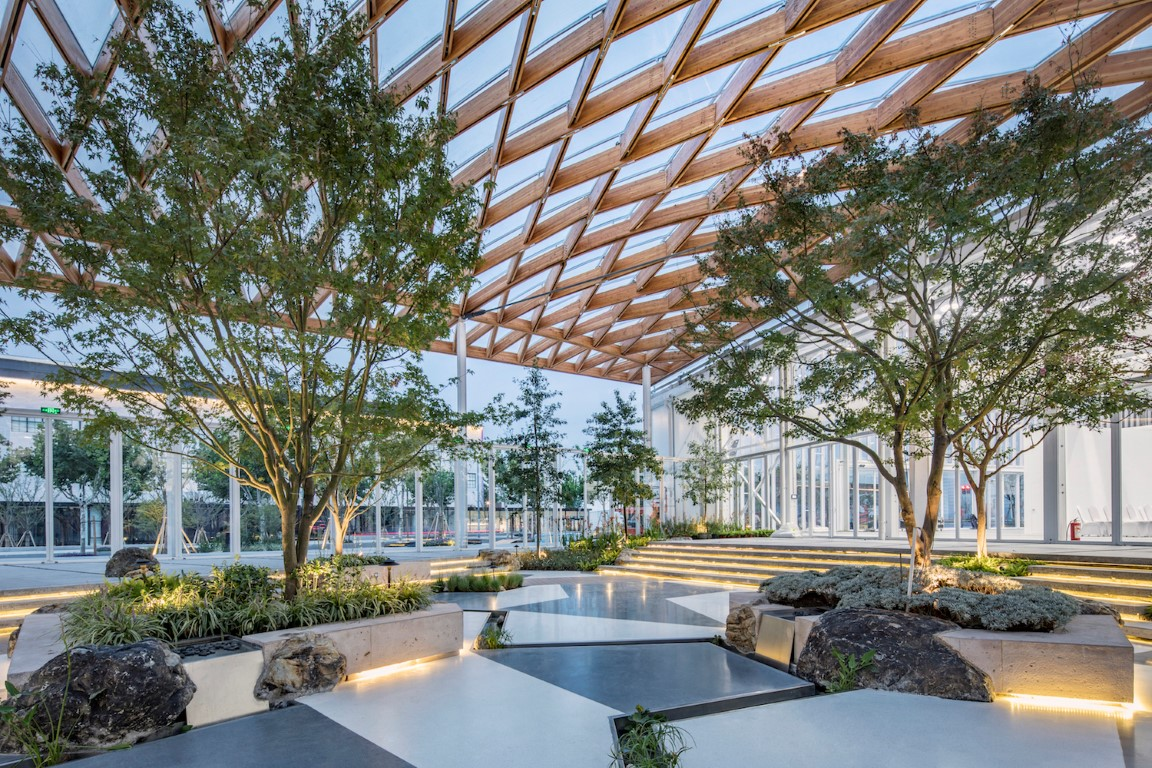 Venue B of Shanghai Westbund World Artificial Intelligence Conference -Archi-Union Architecture-IGS Magazine-10