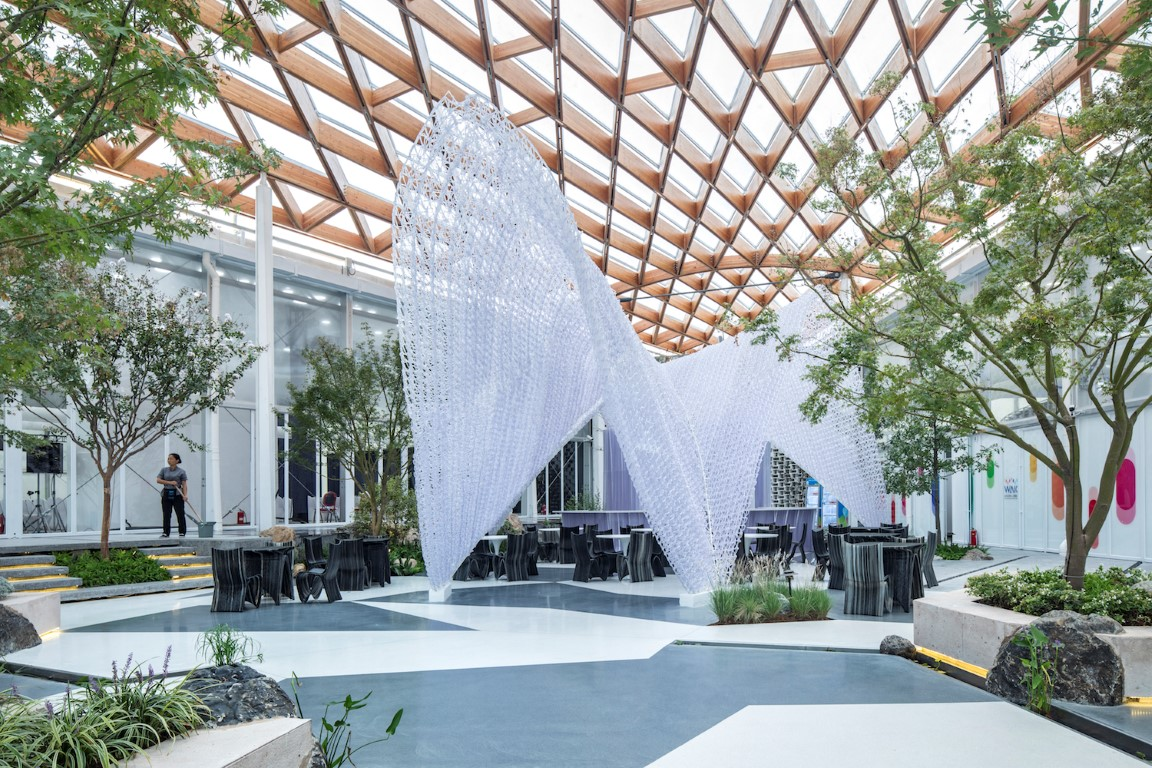 Venue B of Shanghai Westbund World Artificial Intelligence Conference -Archi-Union Architecture-IGS Magazine-13