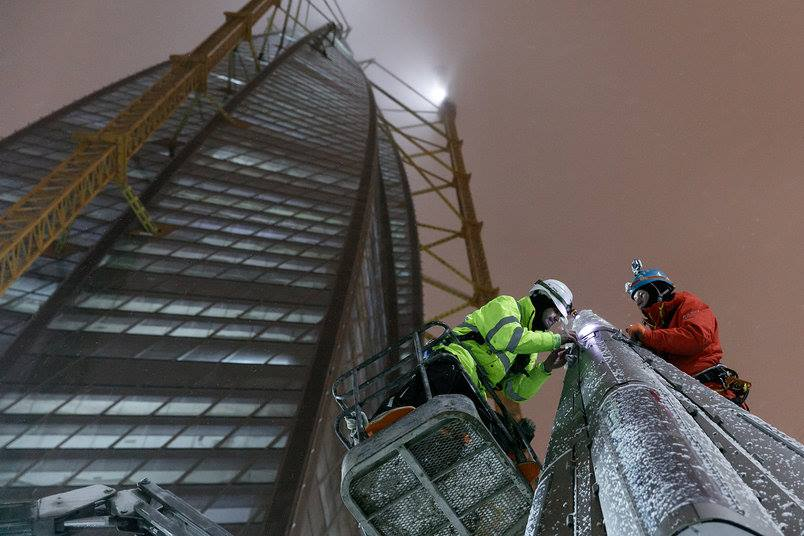 Construction of spire for lakhta center - igs magazine - videos - cover image