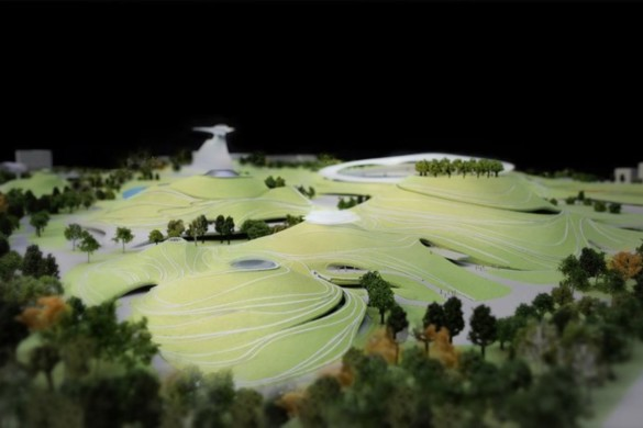 MAD Architects Begins Construction on Mountainous Quzhou Sports Campus in China-11