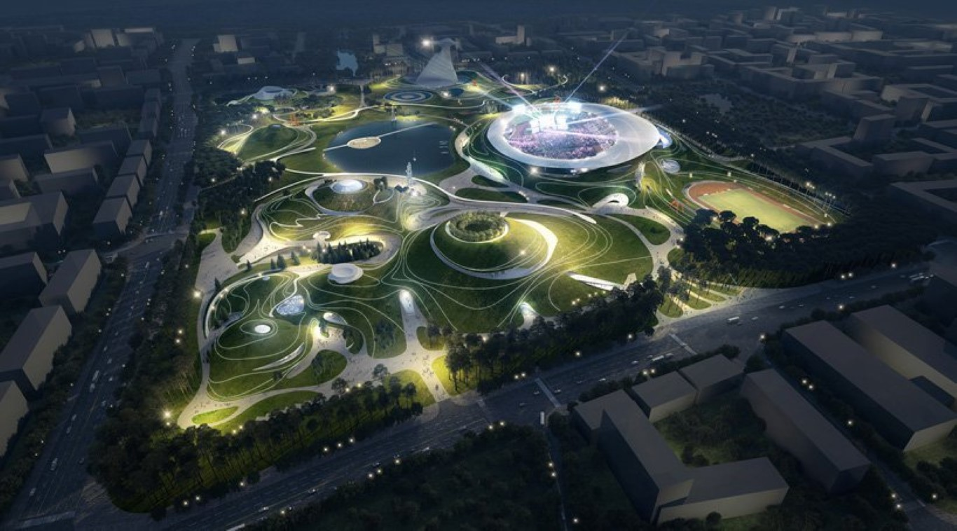 MAD Architects Begins Construction on Mountainous Quzhou Sports Campus in China-2