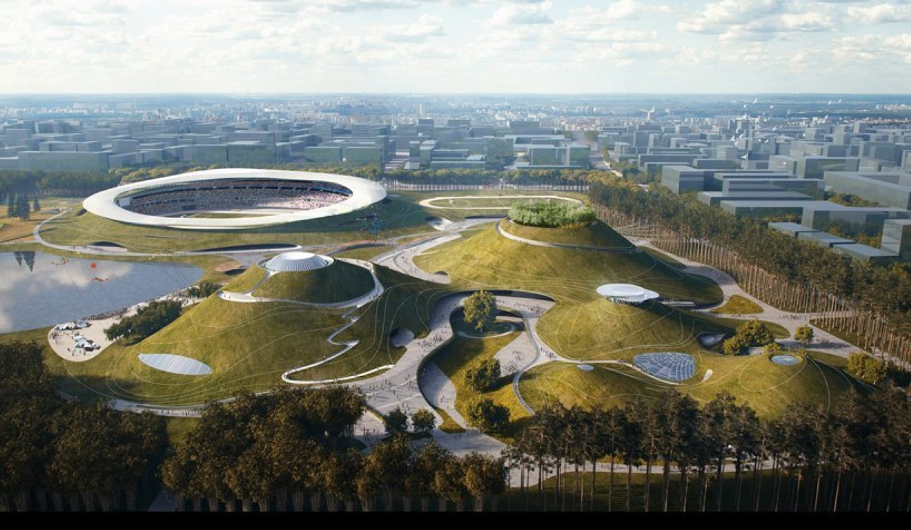 MAD Architects Begins Construction on Mountainous Quzhou Sports Campus in China-3