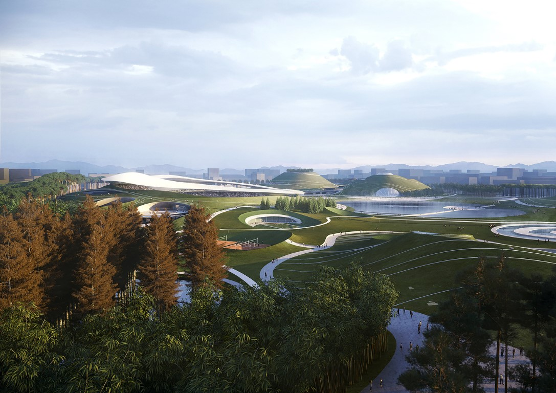 MAD Architects Begins Construction on Mountainous Quzhou Sports Campus in China-6