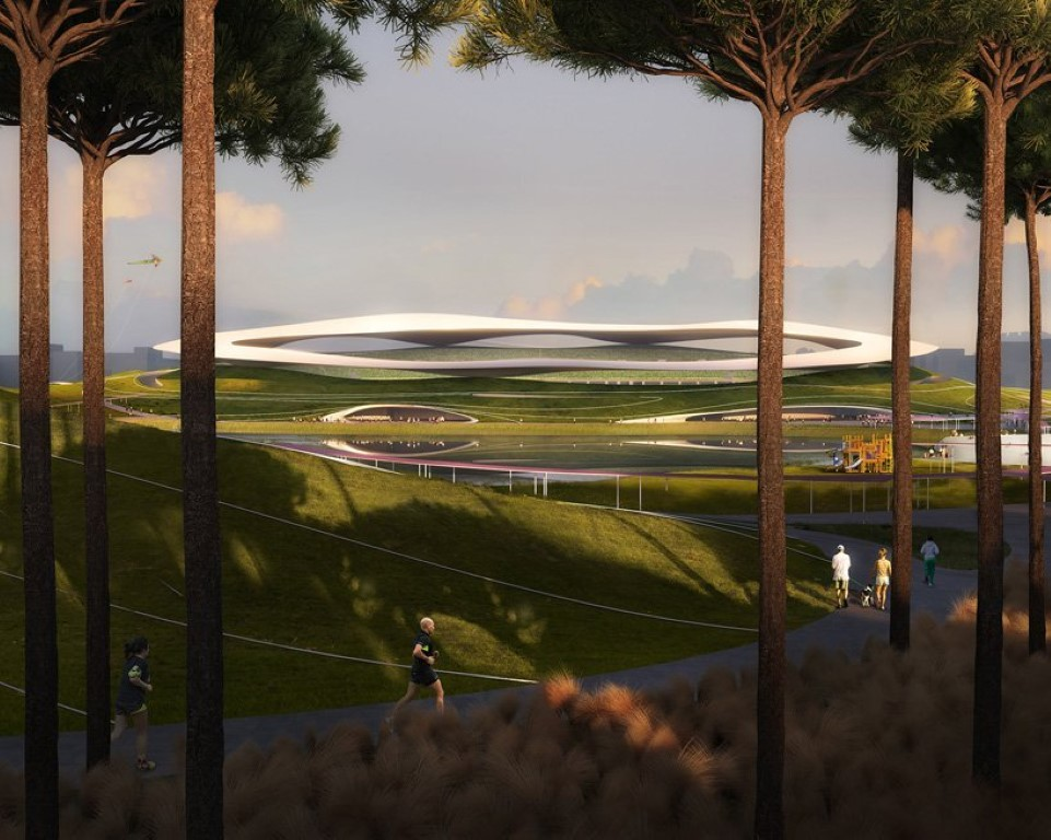 MAD Architects Begins Construction on Mountainous Quzhou Sports Campus in China-7