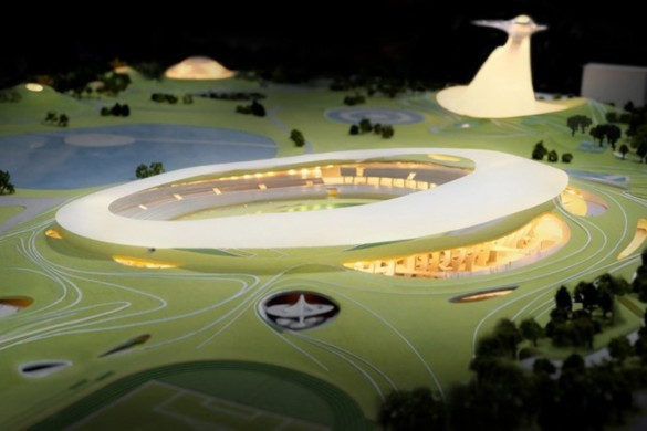 MAD Architects Begins Construction on Mountainous Quzhou Sports Campus in China-9