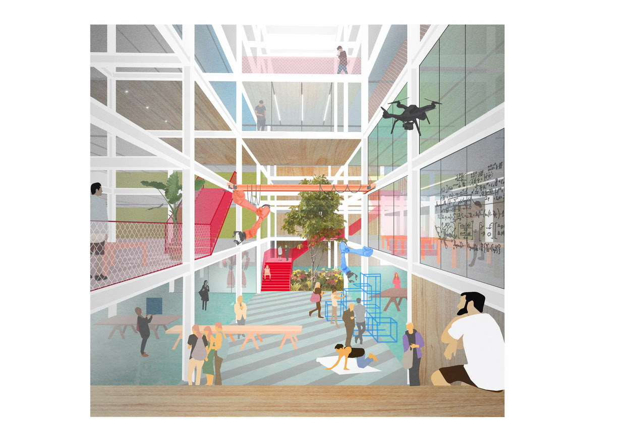 Benthem Crouwel Designs Recycled and Recyclable Science Faculty for the University of Amsterdam-2