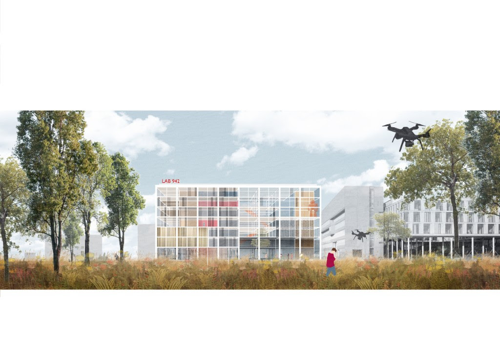 Benthem Crouwel Designs Recycled and Recyclable Science Faculty for the University of Amsterdam-4