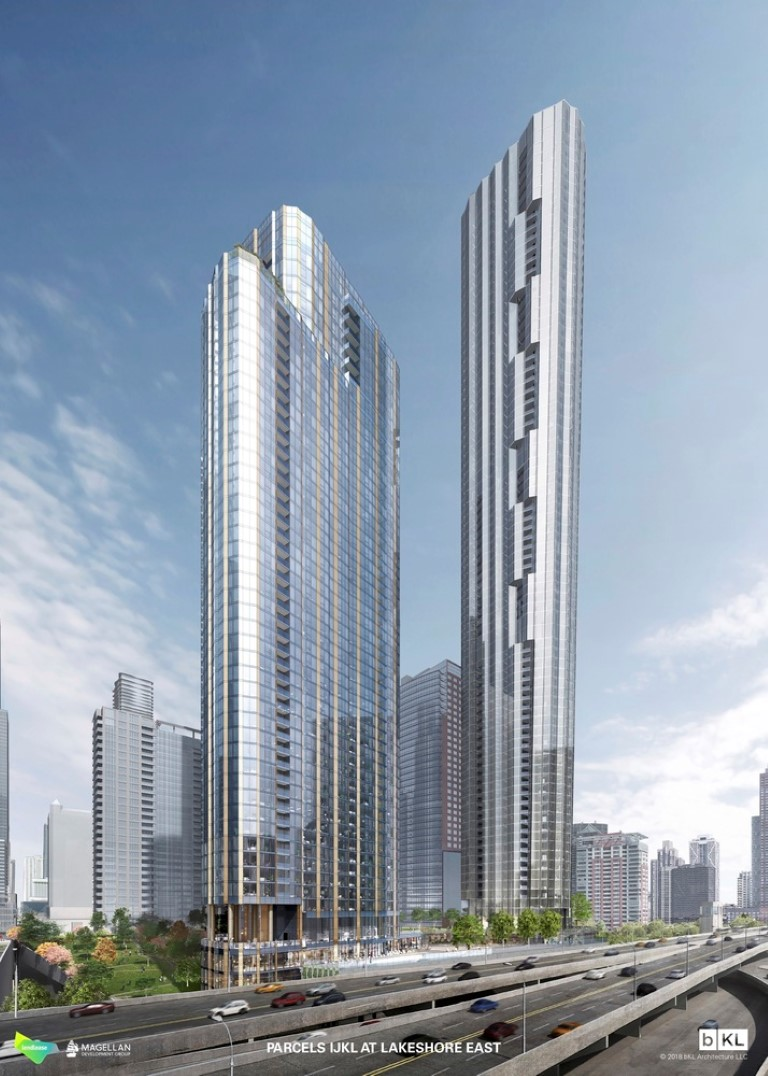 Chicago Approves bKL Architecture's Three-Tower Master Plan for Lakeshore East - IGS Magazine - 2