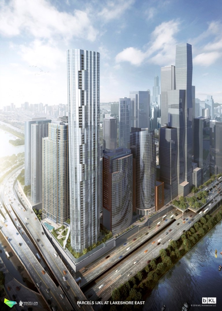Chicago Approves bKL Architecture's Three-Tower Master Plan for Lakeshore East - IGS Magazine - 4