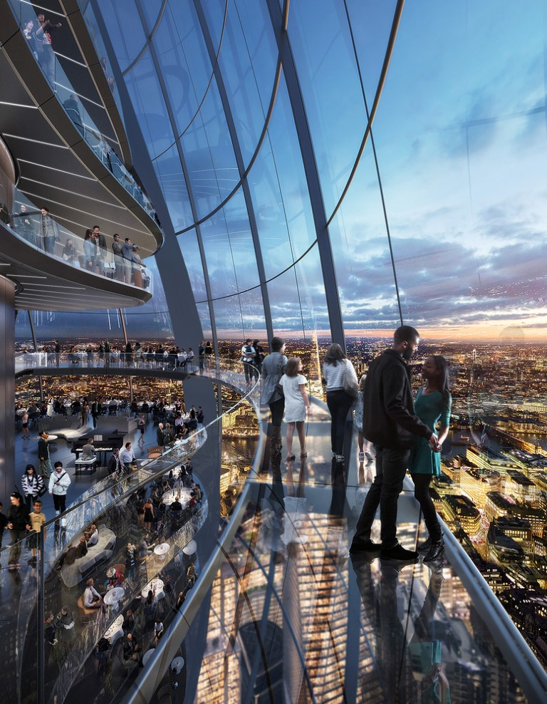 DBOX for Foster + Partners - SAFRA 30 St Mary Axe