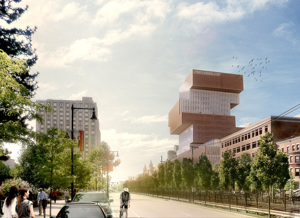 KPMB Architects Designs Stacked Data Sciences Tower for Boston University-4