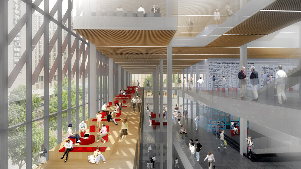 KPMB Architects Designs Stacked Data Sciences Tower for Boston University-5