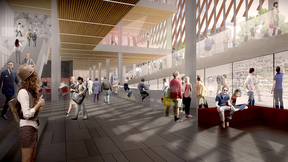KPMB Architects Designs Stacked Data Sciences Tower for Boston University-8