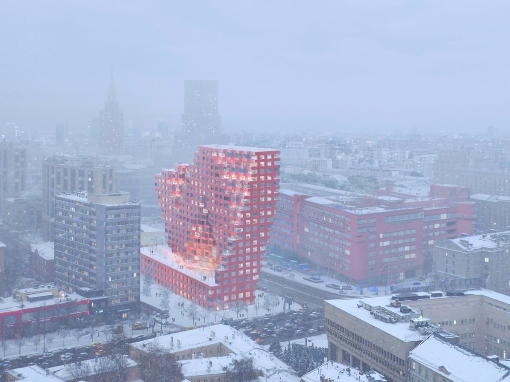 MVRDV'S RED7 Project Officially launched in Moscow - igs magazine - press releases - 7