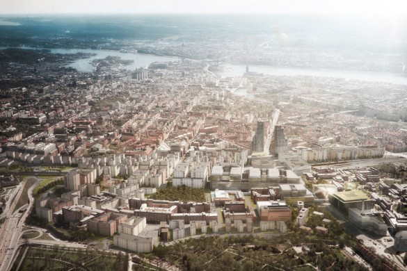Norra Tornen: OMA   Reinier de Graaf