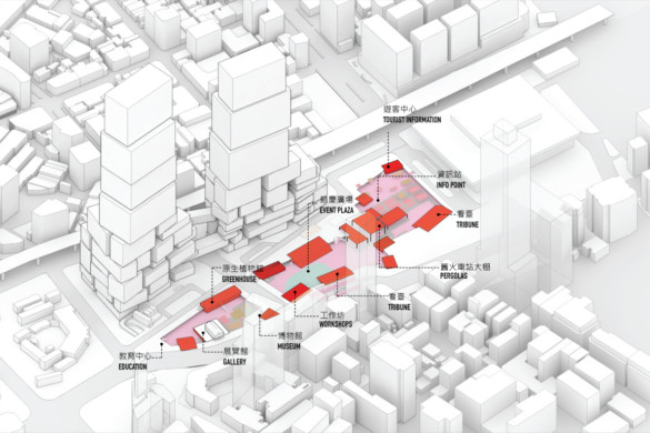 "MVRDV's Glowing ""Times Square Taiwan"" with Interactive Media Facades"