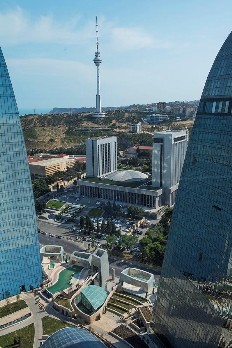 Baku Flame Towers - HOK - projects - igs magazine - 4