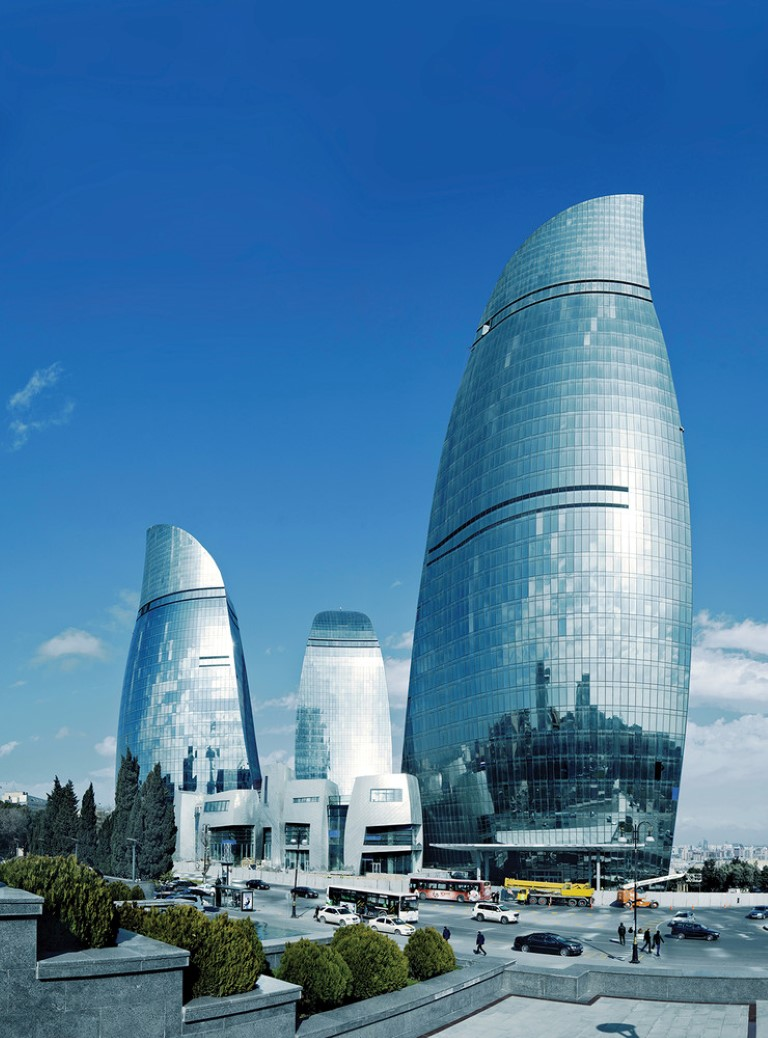 Baku Flame Towers - HOK - projects - igs magazine - 6