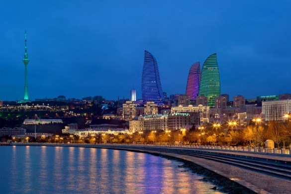 Baku Flame Towers - HOK - projects - igs magazine - 7