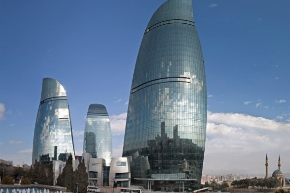 Baku Flame Towers - HOK - projects - igs magazine - 8