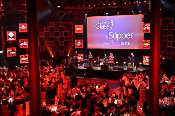Memories of the Amazing Glass Supper 2018 at the Roundhouse, Camden