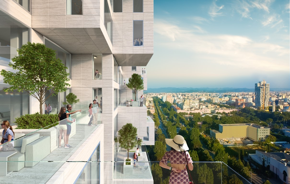 MVRDV's Tirana Tower forms a Pixelated Map of Albania-igs magazine-news-4