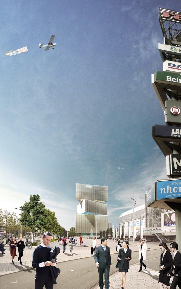OMA-Reinier de Graaf's Nhow Amsterdam RAI Hotel Tops Out-igs magazine-6