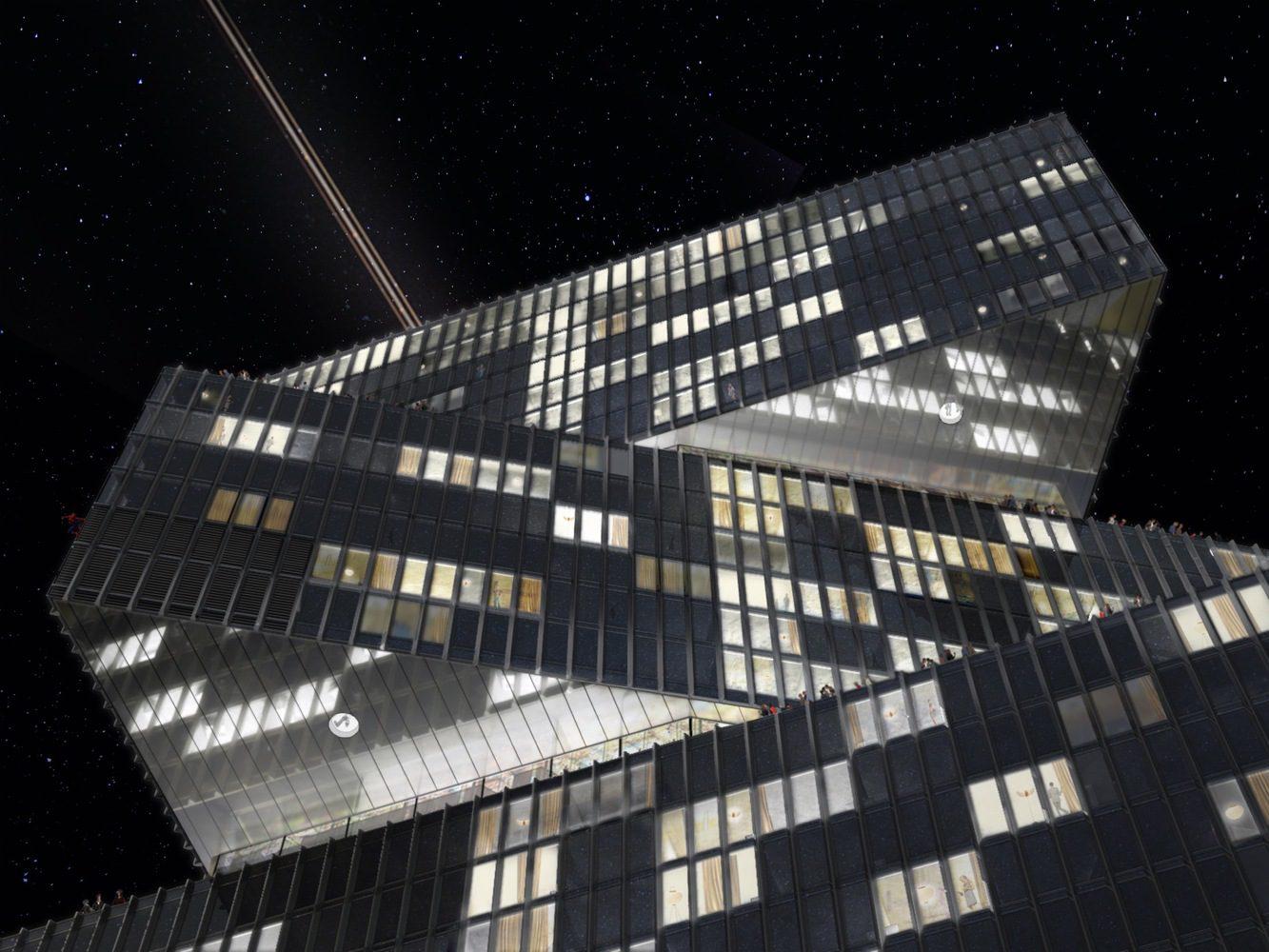 OMA-Reinier de Graaf's Nhow Amsterdam RAI Hotel Tops Out-igs magazine-7