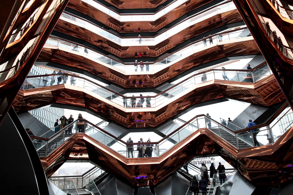 Hudson Yards, New York's Newest Neighborhood, Official Opening Event