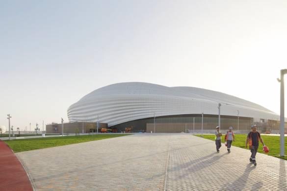03_ZHA_Al_Wakrah_Stadium_Qatar_©Hufton_Crow