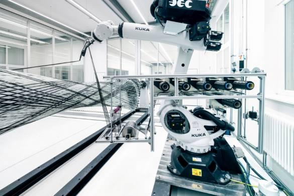 BUGA Fibre Pavilion ICD ITKE University of Stuttgart 21