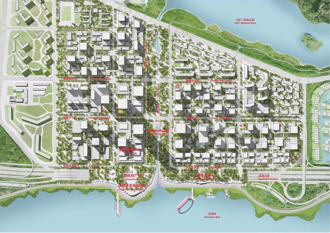 Henning Larsen Among Winning Teams to Design Shenzhen Bay Headquarters City in China - 11jpg