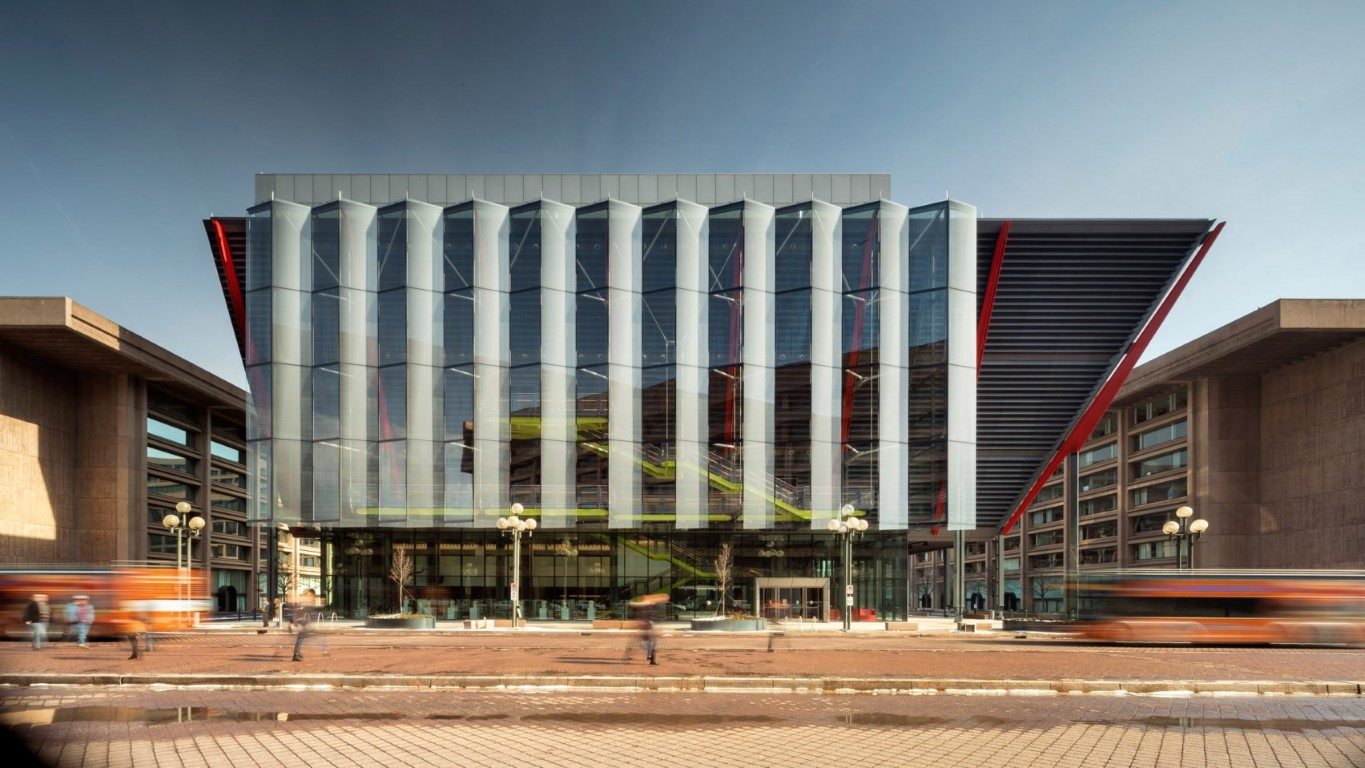 RSHP designed The International Spy Museum Opens to the Public 1