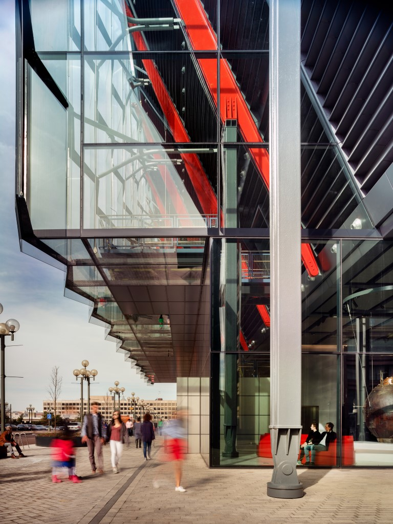 RSHP designed The International Spy Museum Opens to the Public 4