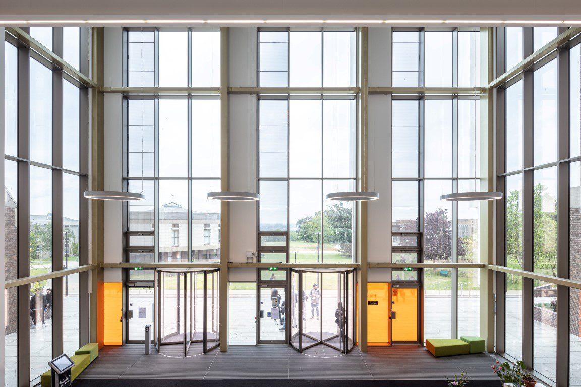 Templeman Library Extension & Refurbishment, University of Kent.