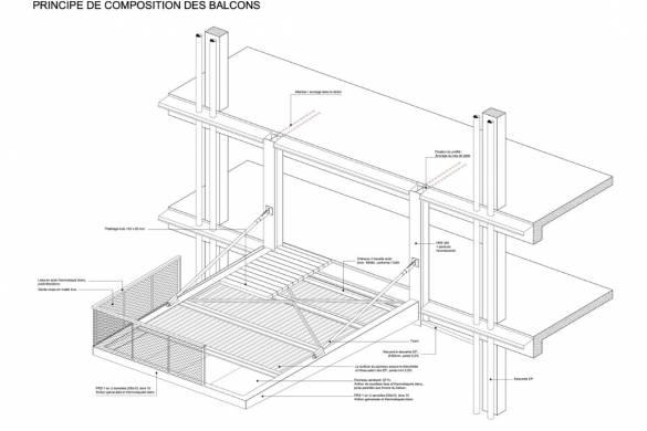 L'Arbre Blanc Residential Tower | Sou Fujimoto Architects + Nicolas Laisné + OXO architects + Dimitri Roussel
