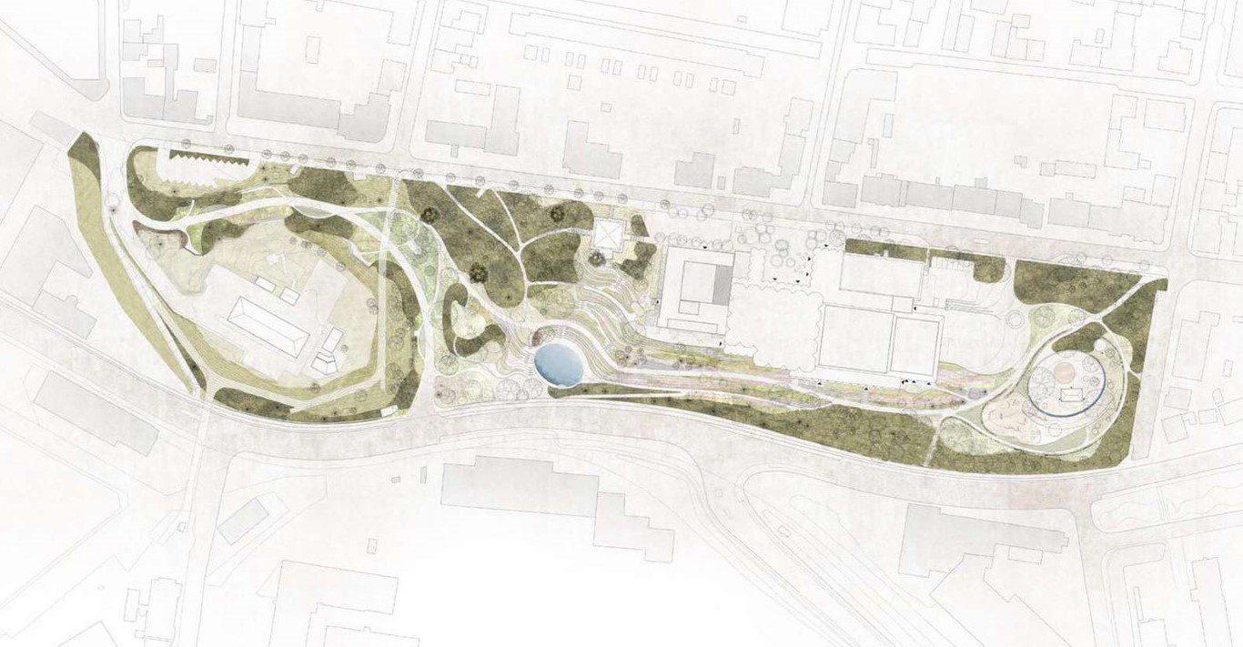 Winning Design Transforms Not Just a Park, but a City's Identity_Henning Larsen_11