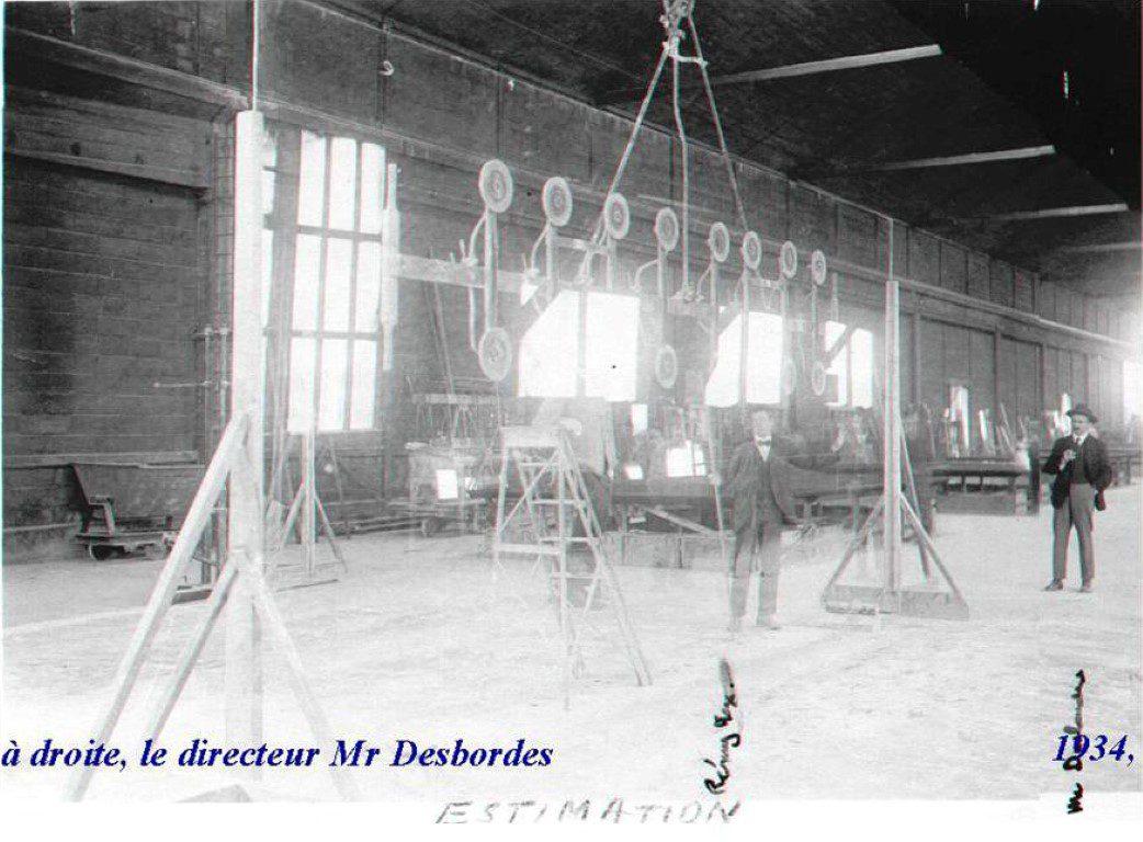02 1934, l'atelier, le Moletoir de la Glacerie de Chantereine