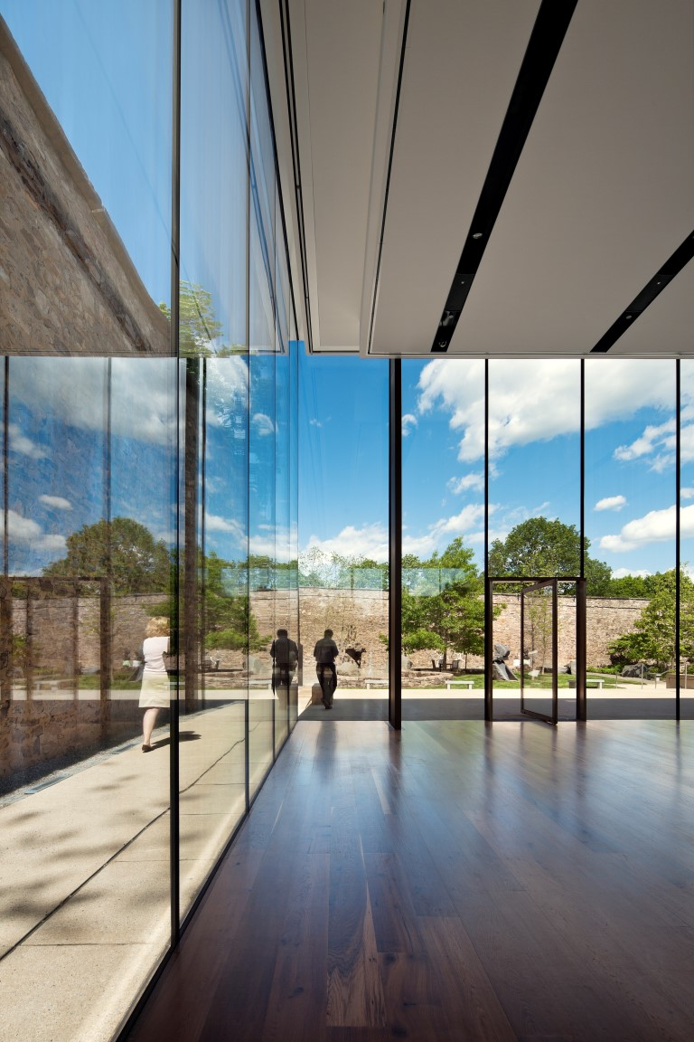 James A. Michener Art Museum Doylestown 2011; Architect: KieranTiberlake Architects, Philadelphia; Photo: ©Michael Moran/OTTO, New York