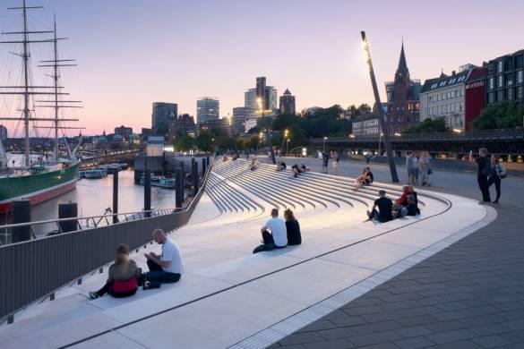 Niederhafen River Promenade | Zaha Hadid Architects