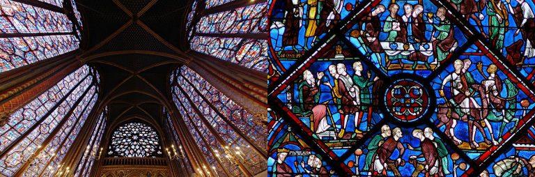 FIG: Sainte Chapelle – Chartres-Vitrail de la Vie de Joseph