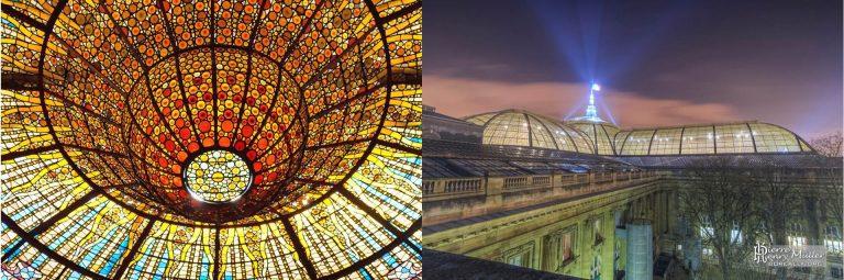 FIG: Palau del Musica Barcelona – Grand Palais Paris Architects: H. Deglane, A. Louvet, A. Thomas and C. Girault 1900
