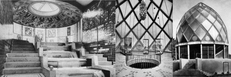FIG: Werkbund Pavillon Architect : B. Taut 1914
