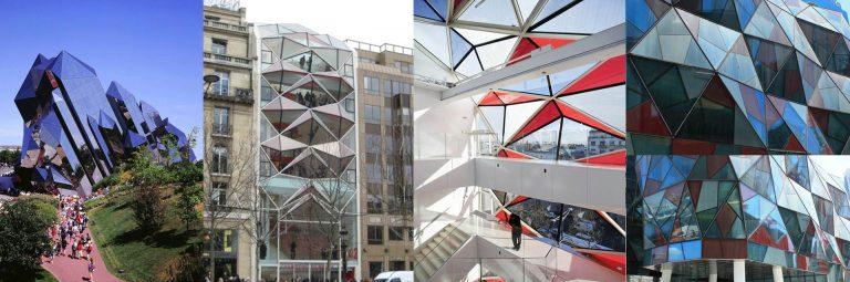 FIG: Kinémax 1- Futuroscop Potiers France Architect: D. Laming 1987 – Citroën showroom,Champs-Élysées Paris Architect: E. Gautrand 2004 – Galeria Dong Chang Shanghai Architect: W. Alsop 2010