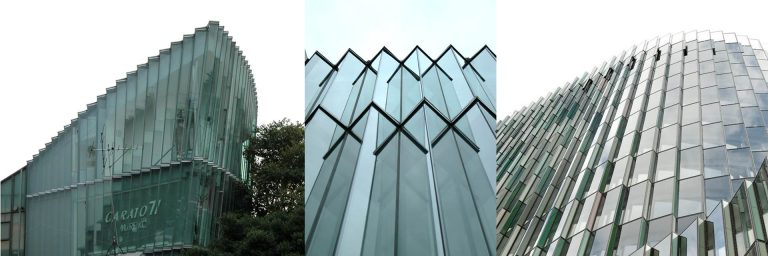 FIG: Miss Reiko Ginza Tokyo Architect: S. Yoh – KfW bank Frankfurt Architects: Sauerbruch Hutton