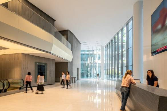 KPF-Designed Robinson Tower Opens in Singapore