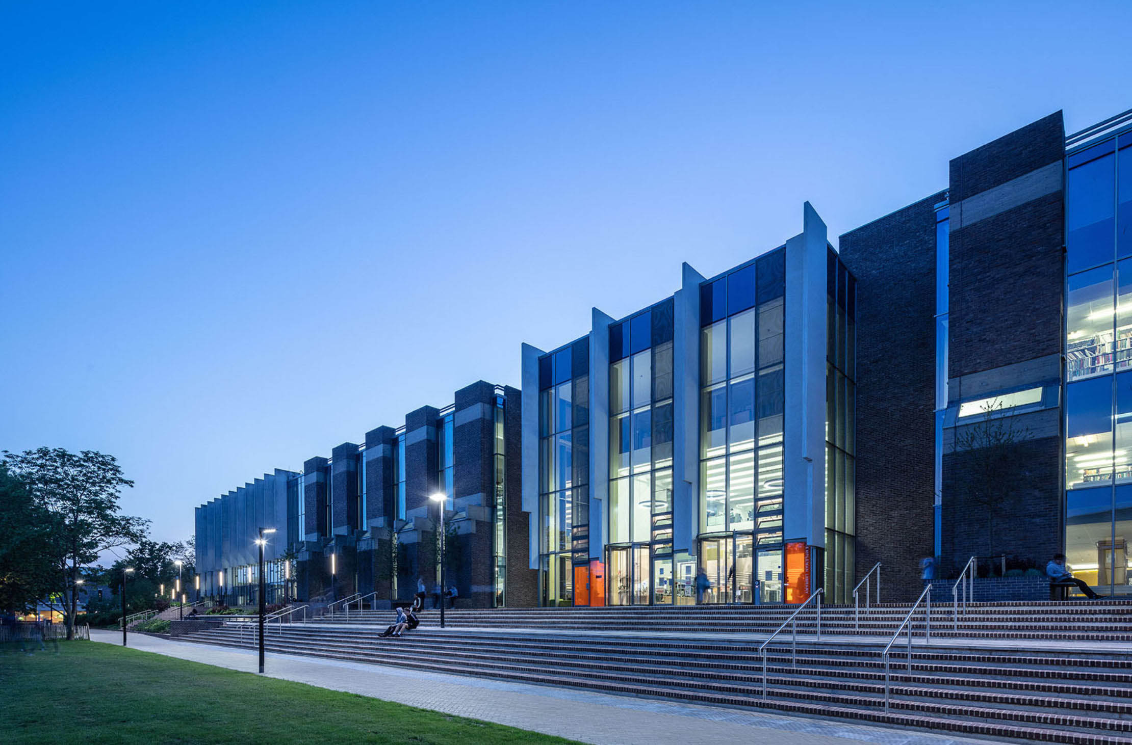 Templeman Library Extension & Refurbishment, University of Kent.